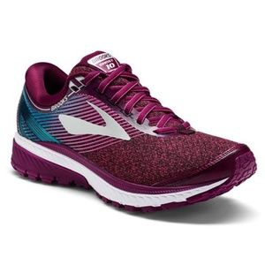 Brooks Ghost 10  Running Shoes Purple Teal $120